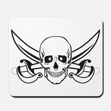 Pirate Skull/Skeleton Mousepad