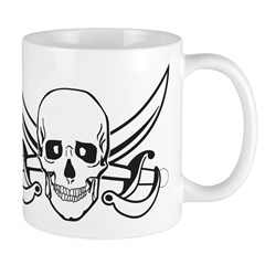 Pirate Skull/Skeleton Mug