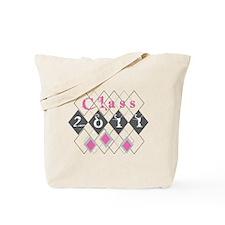 Class 2011 Argyle Tote Bag