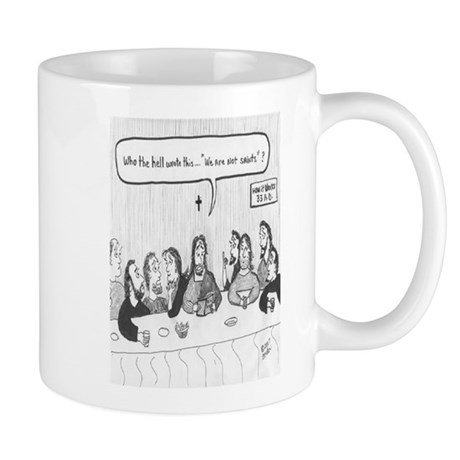 WE ARE NOT SAINTS Mug
