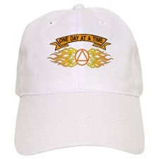 ONE DAY AT A TIME FLAMES Baseball Cap