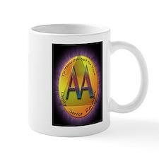 GOLD/PURPLE AA Small Mug