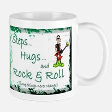 STEPS HUGS ROCKNROLL Mug