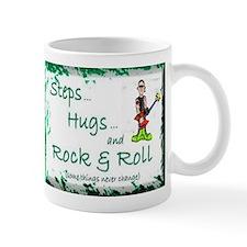 STEPS HUGS ROCKNROLL Small Mug