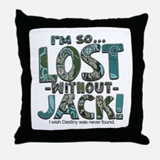 So Lost Without Jack Throw Pillow