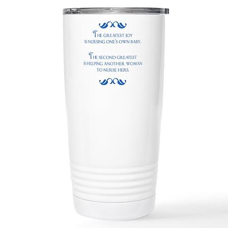 Greatest Joy II Stainless Steel Travel Mug