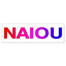 NAIOU Bumper Bumper Sticker