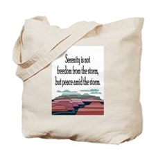 SERENITY STORM Tote Bag