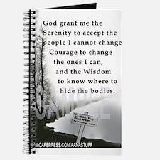 TWISTED SERENITY PRAYER Journal