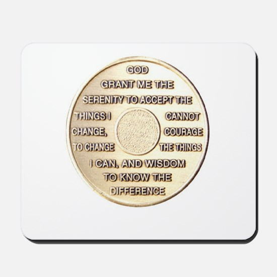 SSERENITY COIN Mousepad