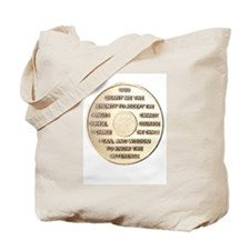 SSERENITY COIN Tote Bag