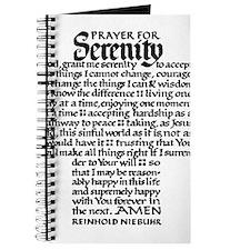 FULL SERENITY PRAYER Journal