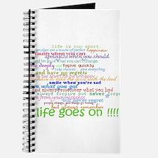 COLERED 12 STEP SAYINGS Journal