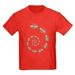 Ant Death Spiral Kids Dark T-Shirt