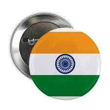 "India Flag 2.25"" Button (10 pack)"