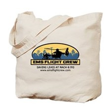 Funny Ems flight crew Tote Bag