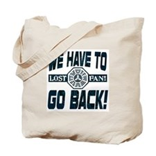 Lost Have to Go Back Tote Bag
