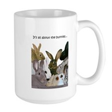 """""""It's...bunnies..."""" Mug"""