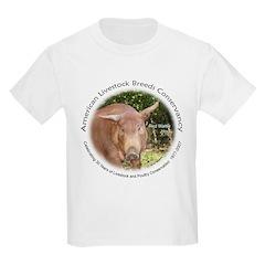 Red Wattle Hog Kids T-Shirt