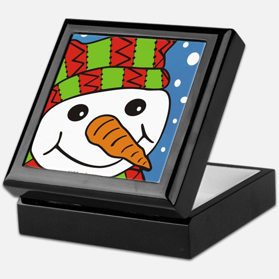 Cute Snowmen Keepsake Box