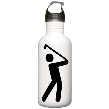 I Love Golf Stainless Water Bottle 1.0L