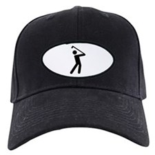 I Love Golf Baseball Hat