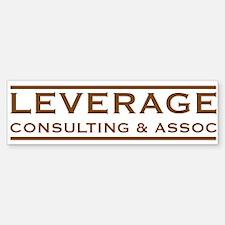Leverage Consulting Bumper Bumper Bumper Sticker