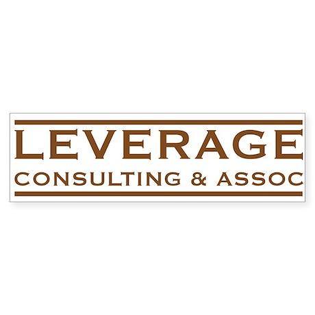 Leverage Consulting Bumper Sticker