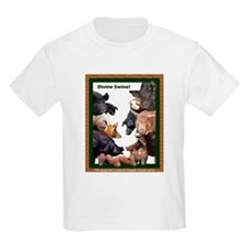 Divine Swine! Kids T-Shirt