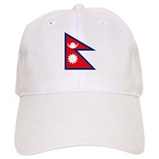 Nepal Flag Baseball Cap