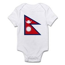 Nepal Flag Infant Creeper