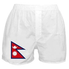 Nepal Flag Boxer Shorts