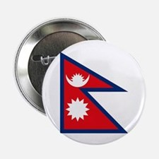 "Nepal Flag 2.25"" Button (10 pack)"