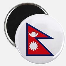 """Nepal Flag 2.25"""" Magnet (10 pack)"""