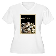 Full of Fiber! (Black) T-Shirt