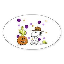 Spikey Halloween Decal