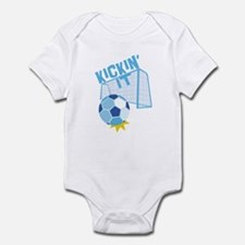 Soccer Kickin' It Infant Bodysuit