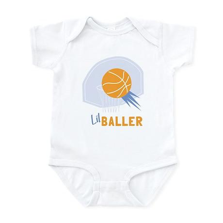 Lil Baller Basketball Infant Bodysuit
