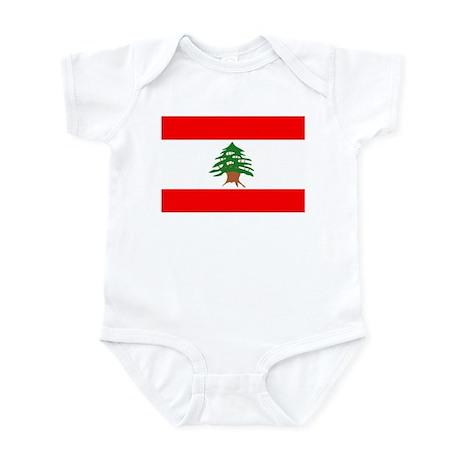 Lebanon Flag Infant Creeper