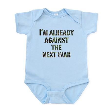 Already Against Next War Infant Bodysuit