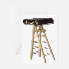Climb Corporate Ladder Greeting Card