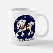 Happy Holidays Draft Horse
