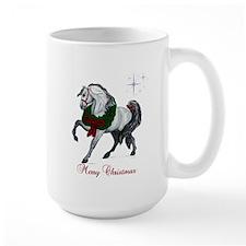 Christmas Andalusian Horse Mug