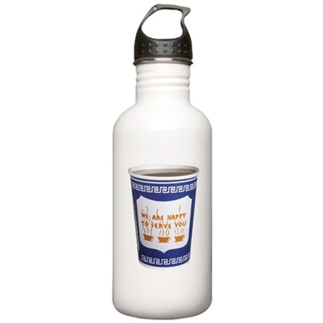 NYC Coffee Cup Stainless Water Bottle 1.0L