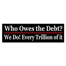 Who owes the debt?
