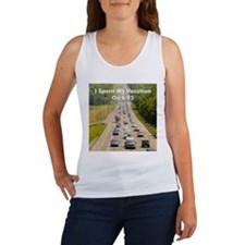 Vacation on I-95 Women's Tank Top