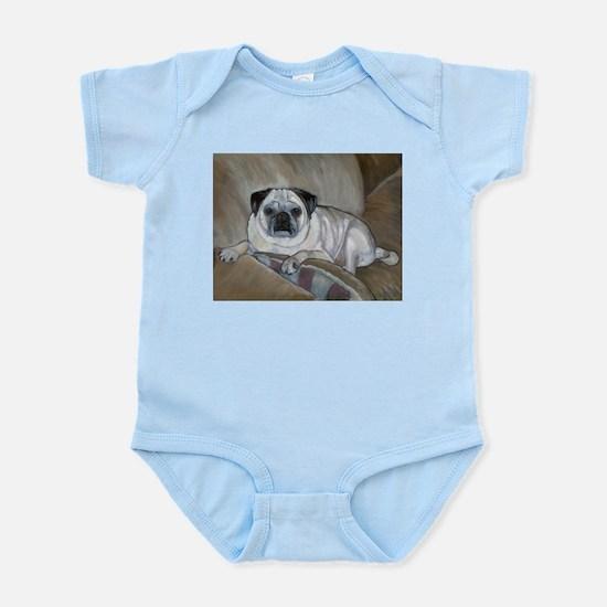 """""""Pug"""" Infant Creeper"""