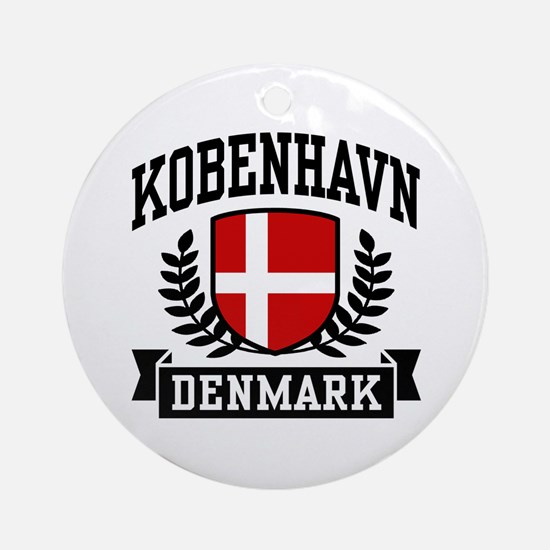 Kobenhavn Denmark Ornament (Round)