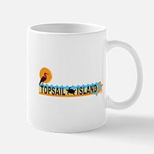 Topsail Island NC - Beach Design Mug