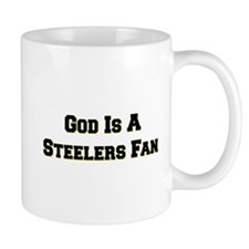 God Is A Steelers Fan Mug